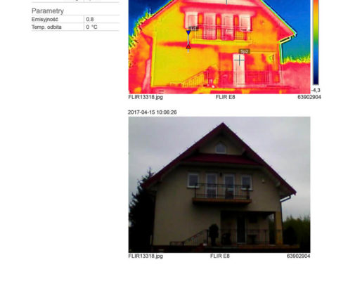 termowizja domu