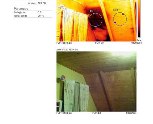 termowizja dachu