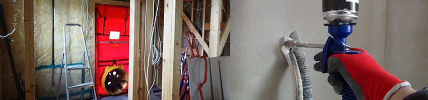 Fan Door Test - badanie szczelności powietrznej budynków
